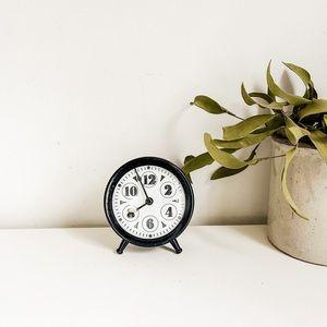 Awesome metal clock
